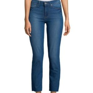 PAIGE Jeans Dylan Straight Leg Cropped